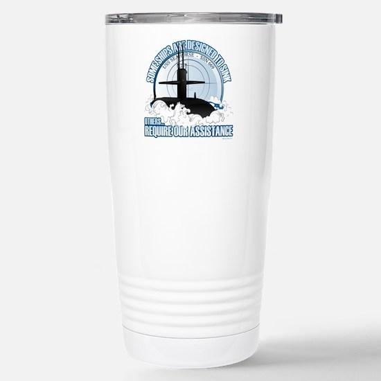USS Seahorse - SSN 669 Stainless Steel Travel Mug