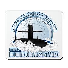 USS Seahorse - SSN 669 Mousepad