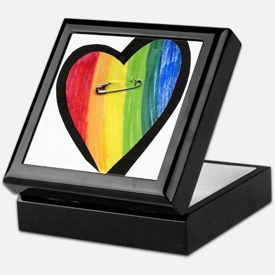 Cute Heart Keepsake Box