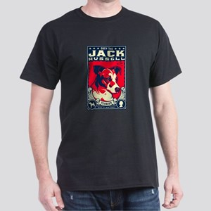 Obey the Jack Russell! Ash Grey T-Shirt