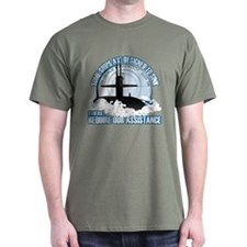 USS George Washington SSBN 598 Dark T-Shirt