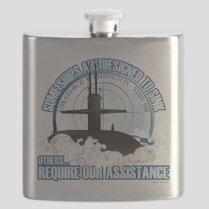 USS George Washington SSBN 598 Flask