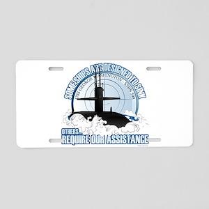 USS George Washington SSBN Aluminum License Plate