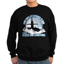 USS Sam Houston SSBN 609 Sweatshirt (dark)