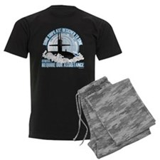 USS Sam Houston SSBN 609 Men's Dark Pajamas