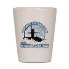 USS Sam Houston SSBN 609 Shot Glass