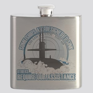 USS Sam Houston SSBN 609 Flask