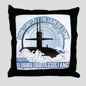 USS Sam Houston SSBN 609 Throw Pillow
