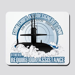 USS Sam Houston SSBN 609 Mousepad
