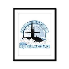 USS Sam Houston SSBN 609 Framed Panel Print