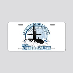 USS Sam Houston SSBN 609 Aluminum License Plate