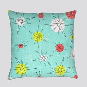 Atomic Era Art Everyday Pillow