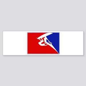 Major League Windsurfing Bumper Sticker