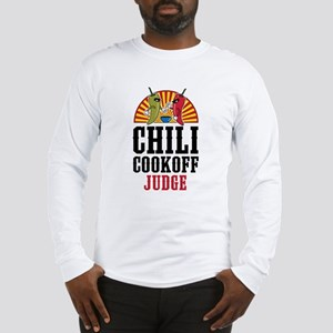 Chili Cookoff Judge Long Sleeve T-Shirt