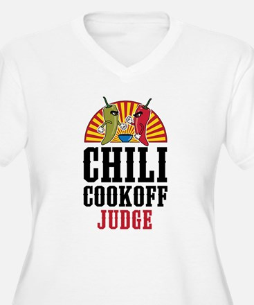 Chili Cookoff Judge Plus Size T-Shirt