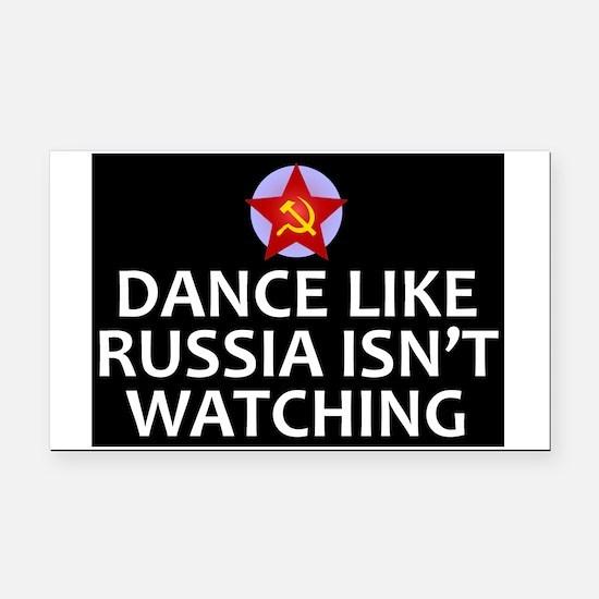Dance Like Russia Isn't Watch Rectangle Car Magnet