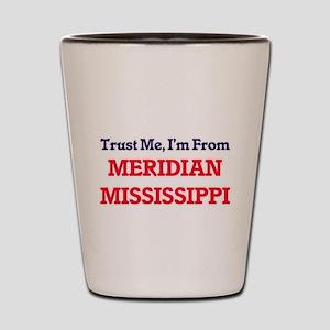 Trust Me, I'm from Meridian Mississippi Shot Glass