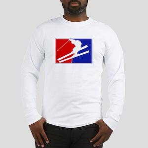 Major League Skiing  Long Sleeve T-Shirt