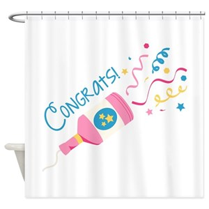 Poppers Shower Curtains
