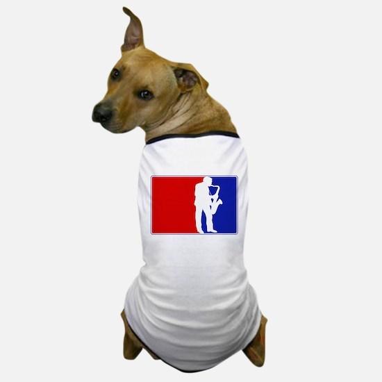 Major League Saxaphone Dog T-Shirt