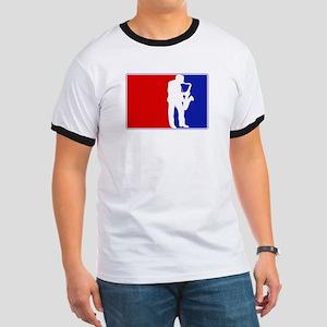 Major League Saxaphone Ringer T