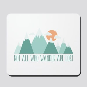 All Who Wander Mousepad