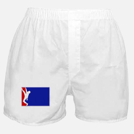 Major League Rock Climbing Boxer Shorts
