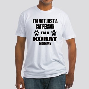 I'm a Korat Mommy Fitted T-Shirt