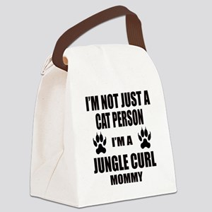 I'm a Jungle-curl Mommy Canvas Lunch Bag