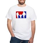 Major League Parenting White T-Shirt