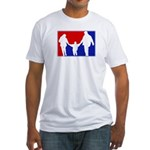 Major League Parenting Fitted T-Shirt