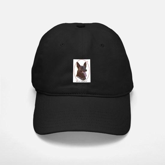 Dutch Shepherd Cameo Baseball Hat