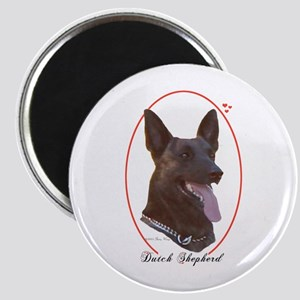 Dutch Shepherd Cameo Magnet