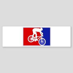 Major League Mountain Biking Bumper Sticker