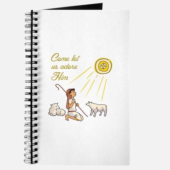 Come Let Us Adore Him Journal