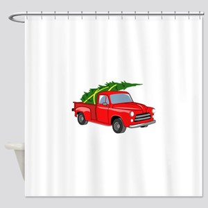 Bringing Tree Home Shower Curtain