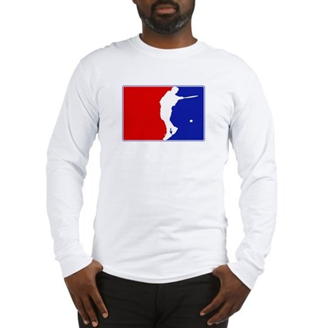 Major League Mens Tennis Long Sleeve T-Shirt