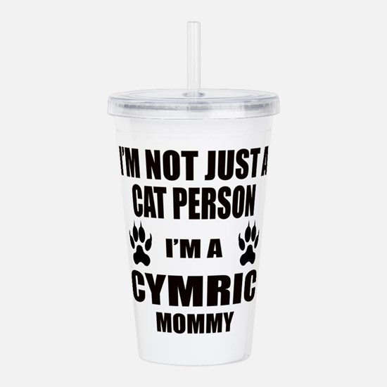 I'm a Cymric Mommy Acrylic Double-wall Tumbler
