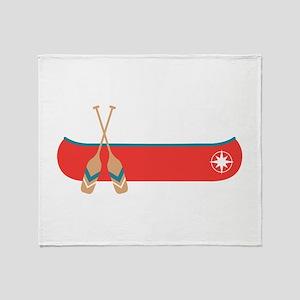Canoe Throw Blanket