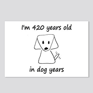 60 dog years 6 - 2 Postcards (Package of 8)