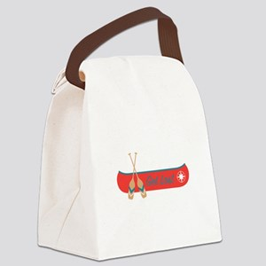 Get Lost Canoe Canvas Lunch Bag