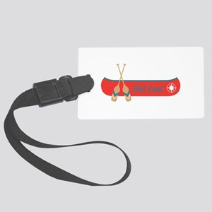 Get Lost Canoe Luggage Tag