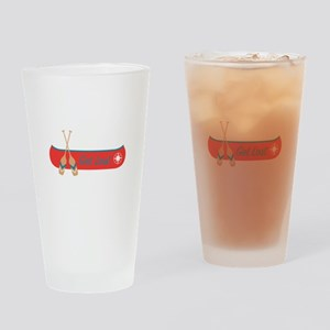 Get Lost Canoe Drinking Glass