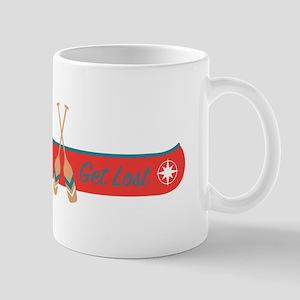 Get Lost Canoe Mugs