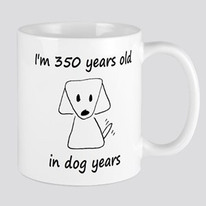 50 dog years 6 Mugs