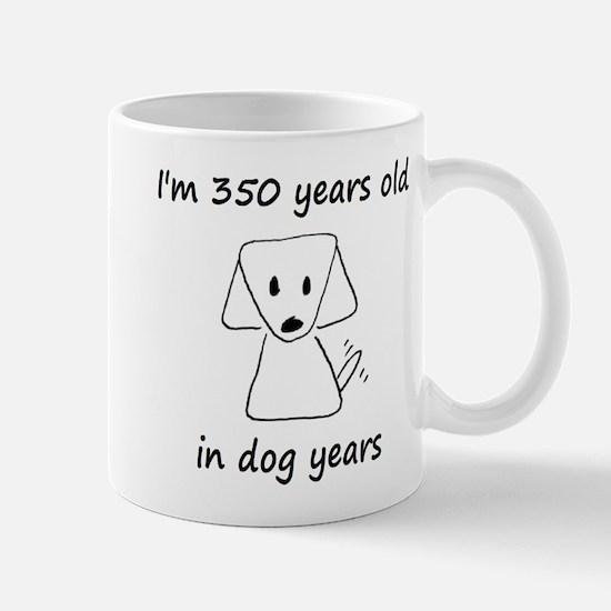 50 dog years 6 Mugs