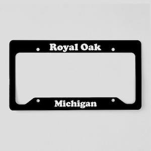 Royal Oak MI License Plate Holder