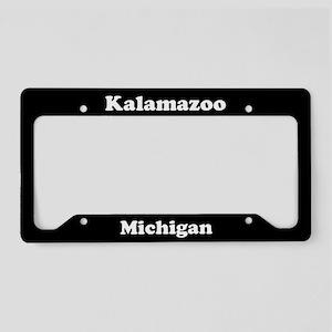 Kalamazoo MI License Plate Holder