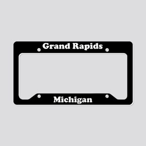 Grand Rapids MI License Plate Holder
