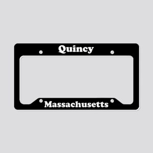 Quincy MA License Plate Holder
